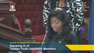 The Youth Assembly 8th Session 1st Sitting