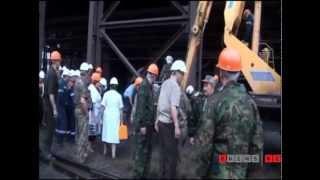 Крупный пожар на меткомбинате Темиртау