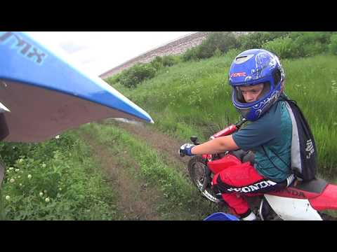 Dirt Biking Otter Creek ATV Park, Burlington KS - My video 01