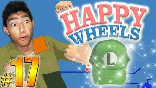 LA GORRA DE LA SUERTE - Happy Wheels: Episodio 17 | Fernanfloo
