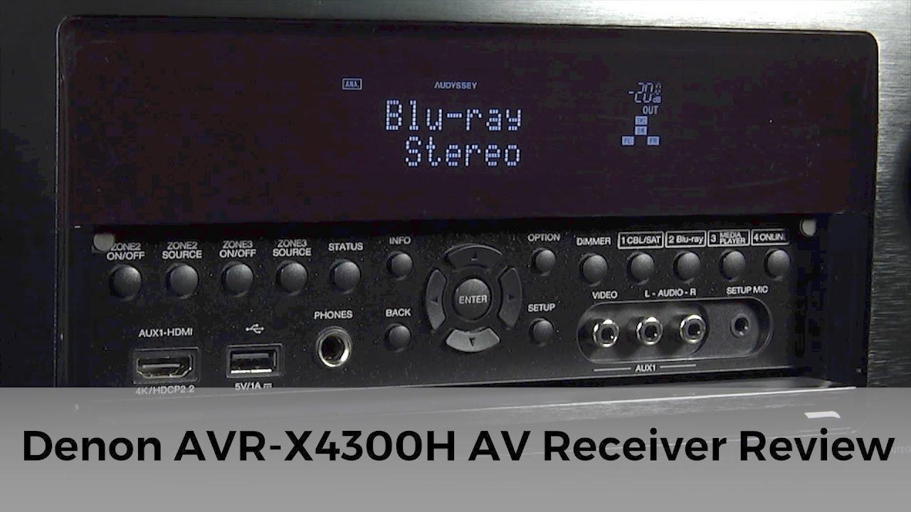 AV Denon AVR-X4300H Black