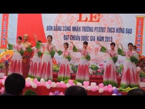 Múa Hương Sen Dâng Bác (Trường PTDTBT THCS Hưng Đạo-Bảo lạc-Cao Bằng)