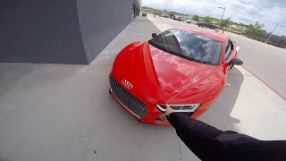 Supercars and VIP Seats -- They Let Us In! Video
