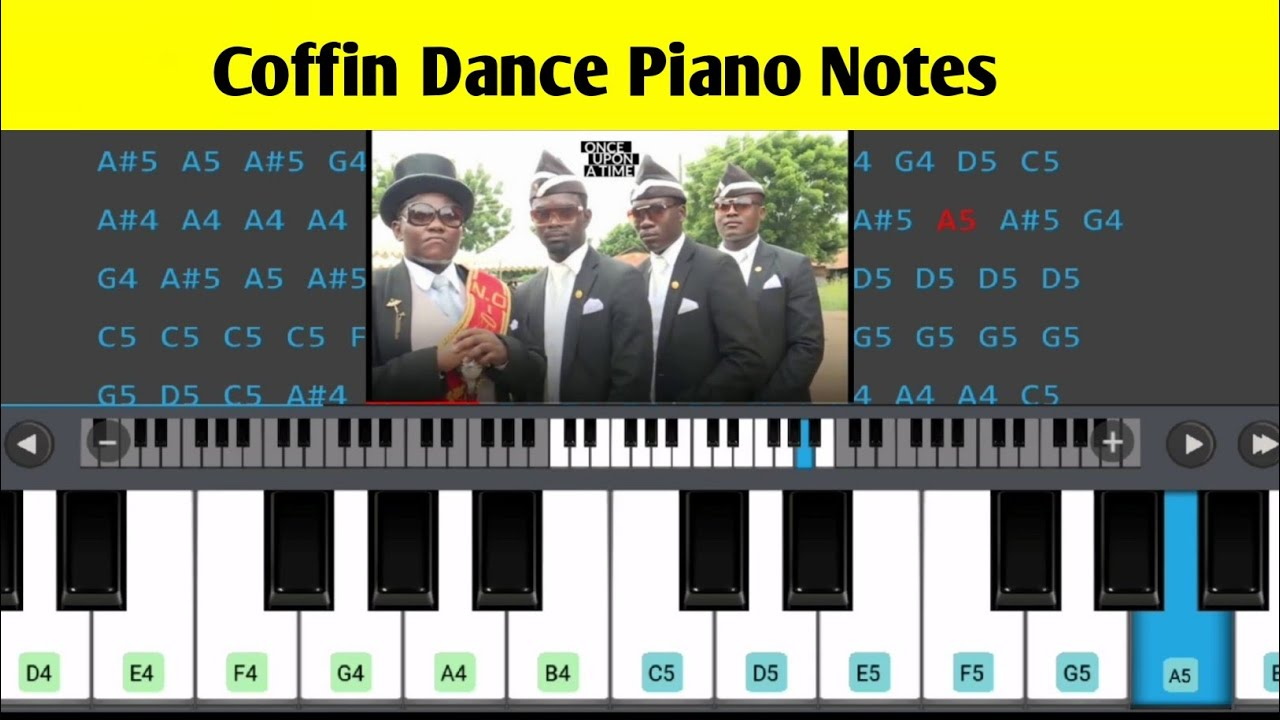Astronomia Keyboard Notes Coffin Dance Piano Notes Youtube