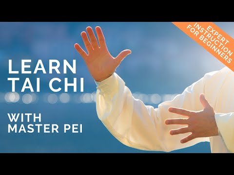 Tai Chi for Beginners: Step 1 Easy-to-follow video routine. Parting Wild Horse's Mane