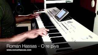Roman Hassas keyboard - O re piya Instrumental