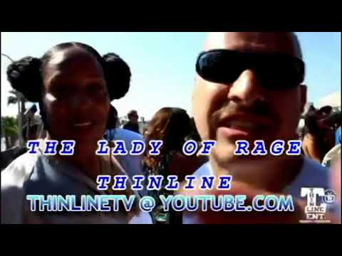 LADY OF RAGE AND THINLINE INTERVIEW
