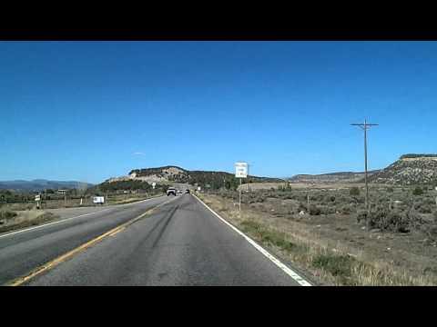 Aztec, NM to Durango, CO via US 550