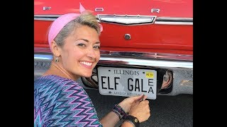 ELFgal gets new plates for her 1965 Galaxie 500