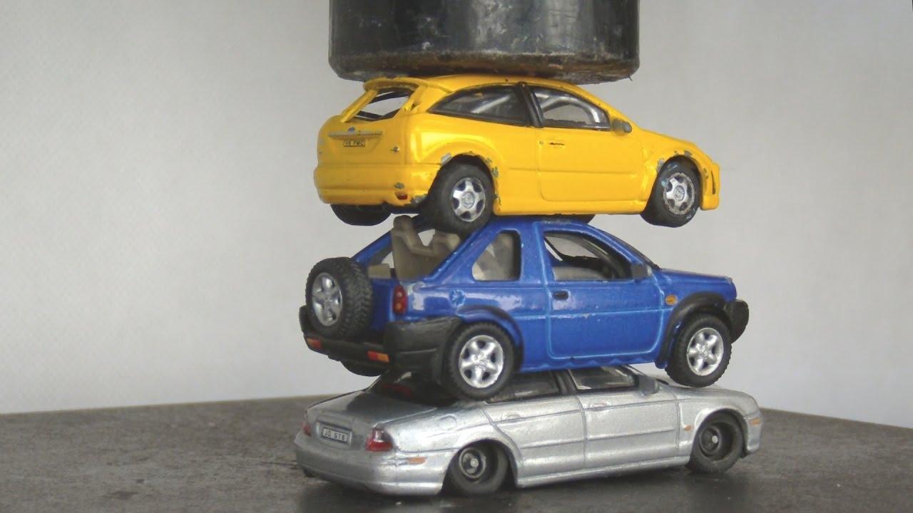 toy car crusher