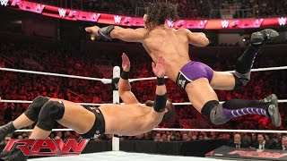 Neville Vs. Curtis Axel: Raw, March 30, 2015