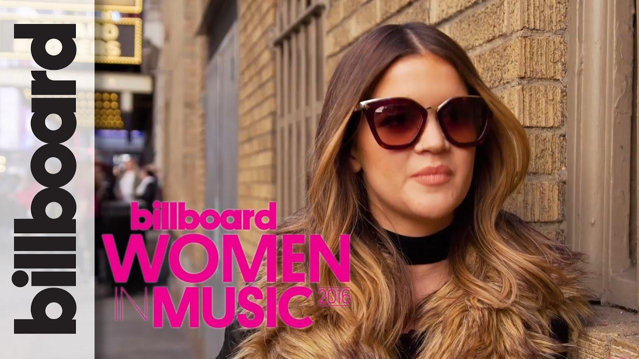 Maren Morris Can't Shake That Feeling When People Sing Your Lyrics  Billboard Women in Music 2016