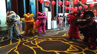 Lion Dance - Sunway Resort Hotel 28th February 2019