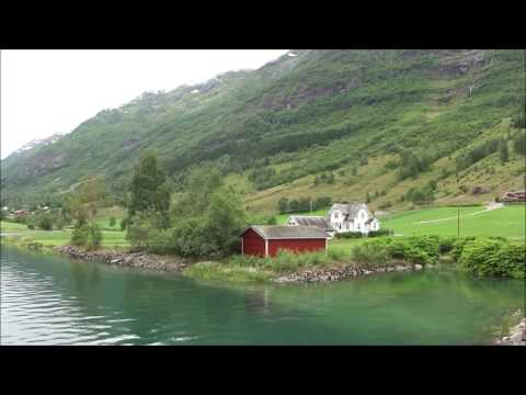 A Stroll Around Olden, Norway. P & O Azura