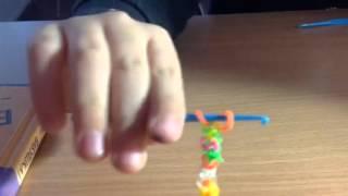 Видео урок по  плетению браслета без рогатки
