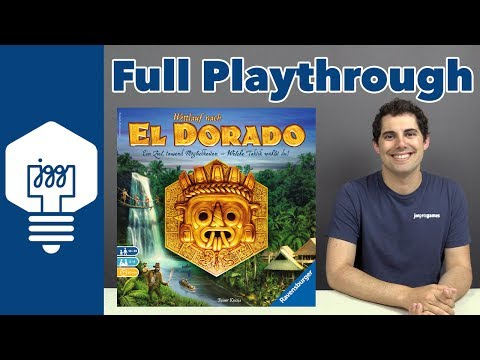 Quest for El Dorado Full Playthrough - JonGetsGames