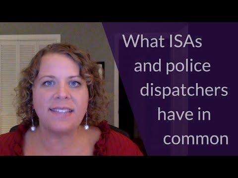 What ISAs and police dispatchers have in common