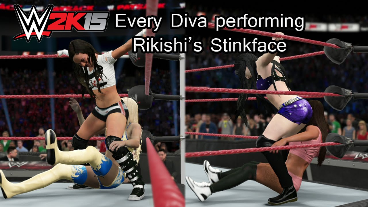 Download WWE 2K15 (PS4) Every Diva Performing Rikishi's Stinkface