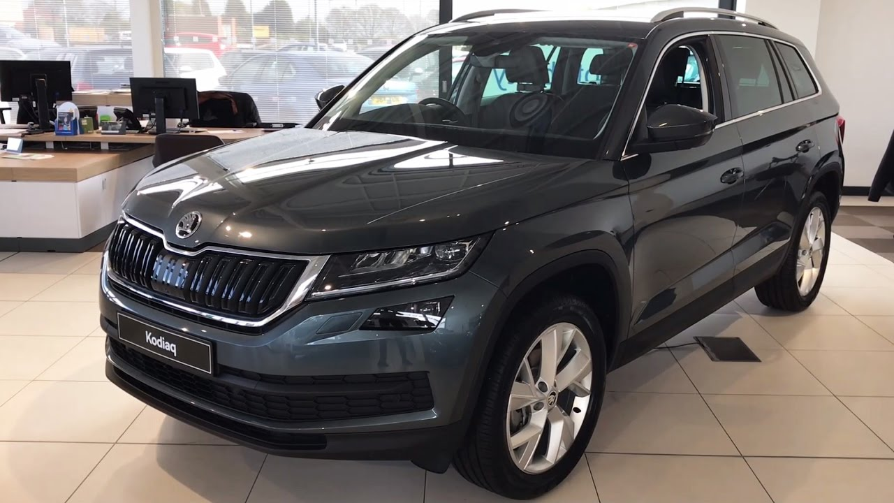 Black Kodiaq >> ŠKODA Kodiaq Edition in Quartz Grey 2017 (17 Reg) (HD ...