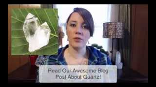 Crystal Healing Video Blog - DaEl Walker, Melody, & More! (October 30, 2013)