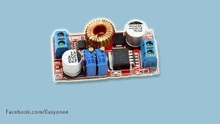 5А DC DC CC і CV на крок вниз модуль XL4015 розпакування | тест