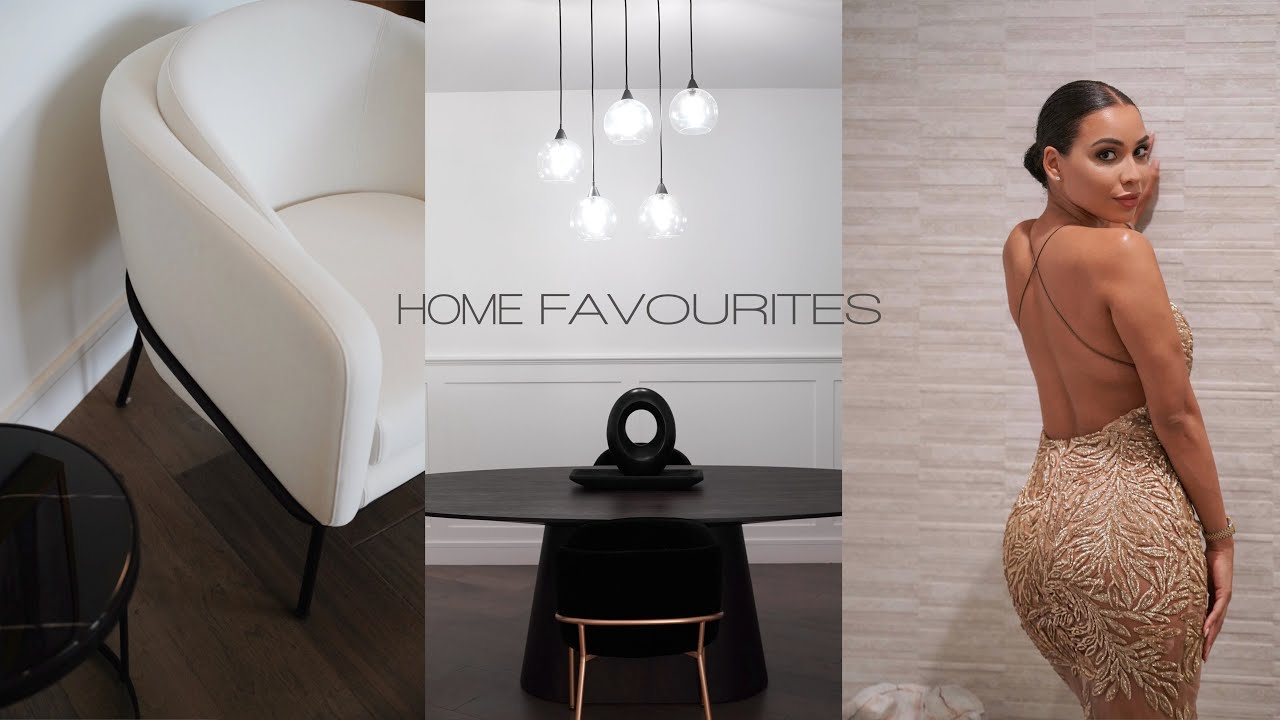 FAVOURITE HOME PIECES | VLOG 5