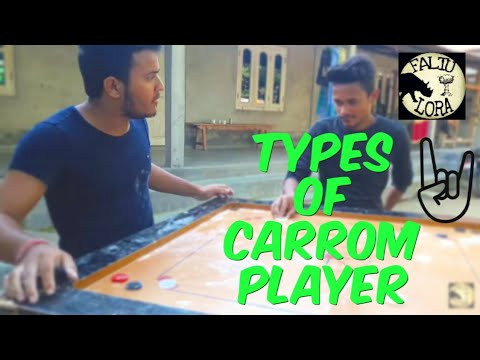 TYPES OF CARROM PLAYER || FALTU LORA || BEST ASSAMESE COMEDY VIDEO