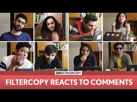 FilterCopy | 2 Million Subscribers Special: We React To Your Comments | Ft. Dhruv, Ashish, Barkha