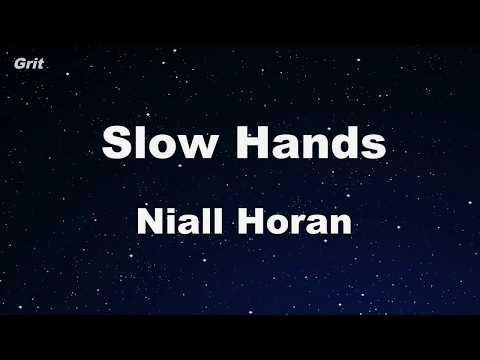 Slow Hands-  Niall Horan Karaoke 【No Guide Melody】 Instrumental