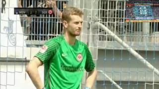 MSV Duisburg vs. Eintracht Frankfurt (Halbfinale Schauinsland-Reisen-Cup der Traditionen 2016)