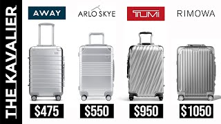 The Best Aluminum Carry-On Luggage Under $1,000 | Away, Tumi, Rimowa, Arlo Skye and More