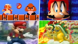 Evolution of Weird Super Mario Glitches (1985 - 2019)