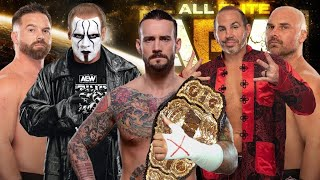 Konnan on: will CM Punk change anything for AEW?