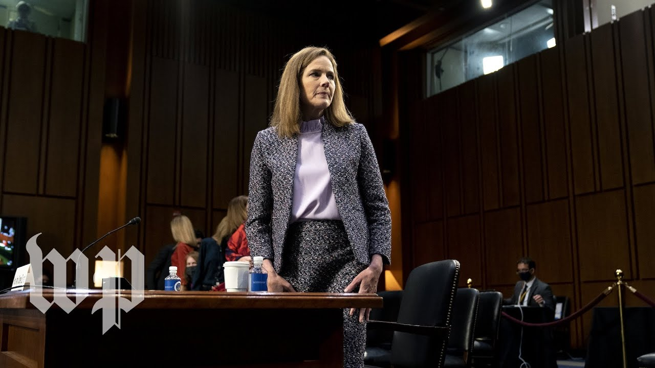 Fourth day of Amy Coney Barrett's Supreme Court confirmation hearing - 10/15 (FULL LIVE STREAM)