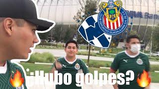 Hubo bronca ? Nuestro primer viaje de #EQUIPOROJIBLANCO a monterrey vs CHIVAS 2-4