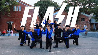 [KPOP IN PUBLIC CHALLENGE] X1(엑스원) _ FLASH Dance Cover by DAZZLING / AOD / B -ZING from Taiwan