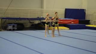 Первенство ЯО по спортивной акробатике. 2 взрослый разряд. 2 упражнение