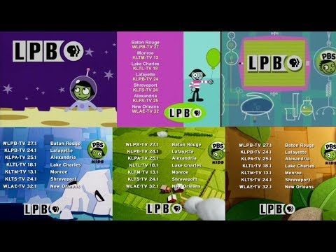 PBS Kids Station Identifications Compilation [LPB 2002-present]