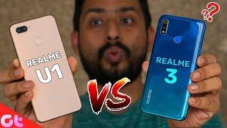 Realme 3 vs Realme U1 Full Comparison | Which One Should You Buy? | GT Hindi