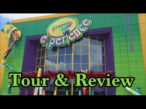Crayola Experience Orlando Tour and Review