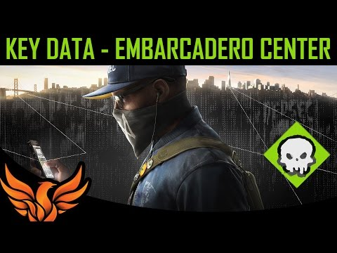 Embarcadero Center - Key Data Location - Watch Dogs 2