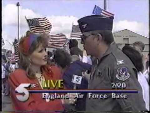 England AFB LA and the 23rd Flying Tigers return from Desert Storm