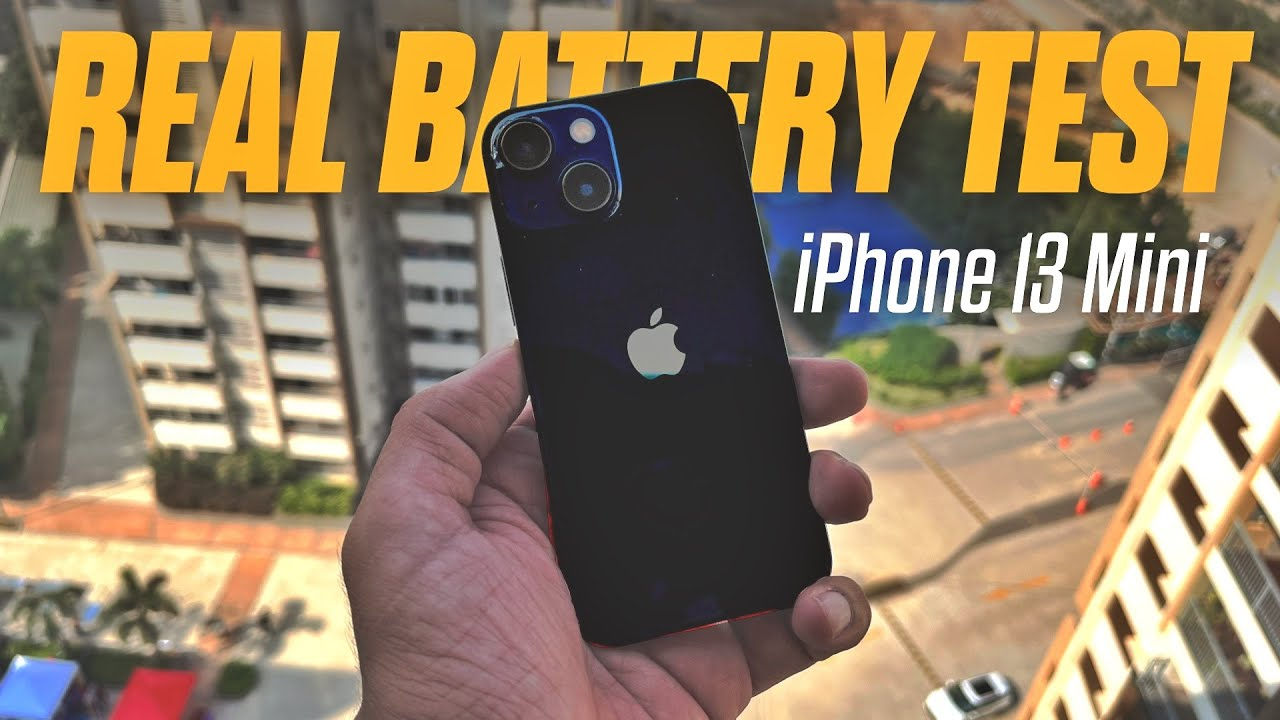 Apple iPhone 13 Mini REAL BATTERY REVIEW - How Long Does it Last? (iPhone 12 Mini Giveaway) - Amit Bhawani