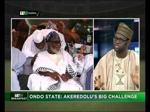 Ondo State : Akeredolu's big challenge