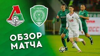 «Локомотив» - «Ахмат». Обзор матча