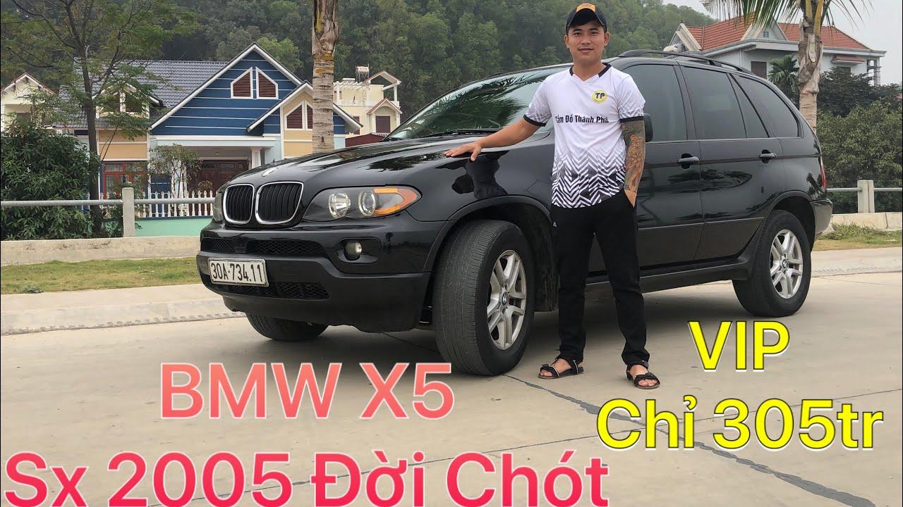 BMW X5 2005 đời chót thế hệ thứ 2. Xe Sang - Đẳng Cấp - Tiện Nghi lại cập bếp phục vụ AE. 0395818688