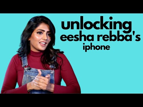 Newz-Unlocking Eesha Rebba`s Phone Uncut Video