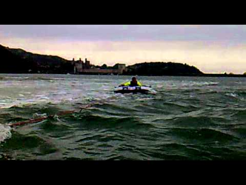 Foxys Shoeless Speed Boat Adventure At Conwy