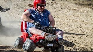 TOP Сумасшедших соревнований: Barbie Jeep Racing, Drift Trike, SoapBox Racing и Grass Kart!