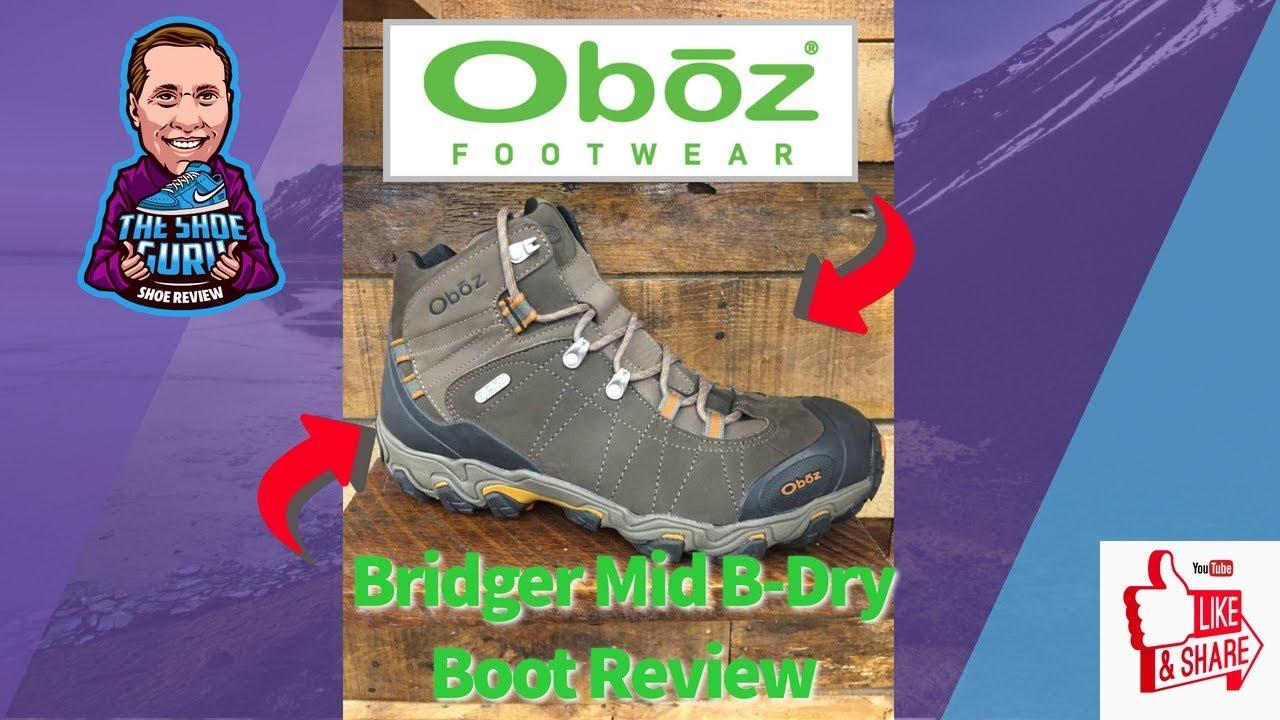 Oboz Bridger Mid B-Dry: A Tough as Nails Boot!